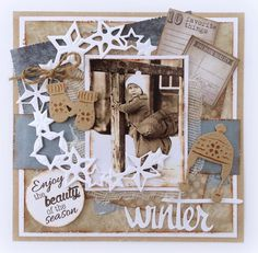 Crafts Circle Stars (stencil) Winter Wishes Stars: Star Stencil, Stencils, 3d Cards, Christmas Cards, Scrapbooking Layouts, Scrapbook Pages, Marianne Design, December Daily, Vintage Tags