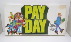 1975 PAY DAY Board Game
