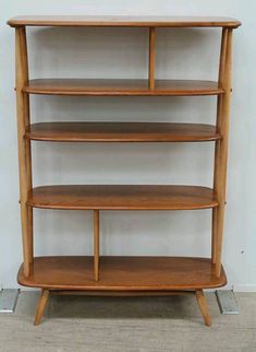 This is a sensational and extremely rare blond Ercol room divider. It is model number 362 and only Ercol Furniture, Living Furniture, Vintage Furniture, Mid-century Interior, Vintage Interior Design, Interior Decorating, Room Divider Bookcase, Room Dividers, Retro Home