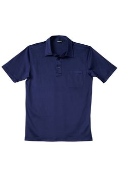 Short sleeve  100/% Mercerize Cotton made in Italy Color Royal Blue Men/'s Polo