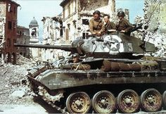 The Light Tank M24 was an American light tank used during the later part of WWII and in postwar conflicts including the Korean War and, with the French, in the War in Algeria and the First Indochina War. In British service it was given the service name Chaffee, after the United States Army General Adna R. Chaffee, Jr., who helped develop the use of tanks in the United States armed forces ~