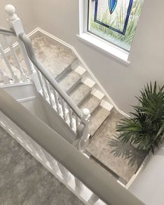 Most current Snap Shots grey Carpet Stairs Style One of the fastest approaches to revamp your tired old staircase is to cover it with carpet. Grey Stair Carpet, Grey Carpet Hallway, Carpet Staircase, Red Carpet, Stairs With Carpet, Stairs Landing Carpet, Stair Carpet Runner, Grey Walls And Carpet, Stair Landing Decor
