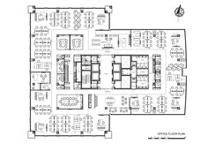 Image 25 of 25 from gallery of ING Bank Turkey HQ / Bakirkure Architects. Office Floor Plan
