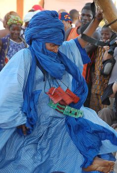 Festival on the Niger - Man Dancing