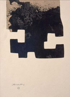 eduardo chillida Abstract Words, Abstract Art, Nocturne, Negative And Positive Space, Collage Illustration, Black And White Abstract, Art Inspo, Painting & Drawing, Sculpture Art