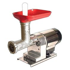 Omcan 8EL Commercial Electric Meat Grinder -- You can find more details by visiting the image link. (This is an affiliate link)