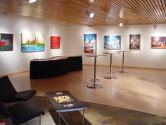 Larson Art Gallery at St. Paul Student Center