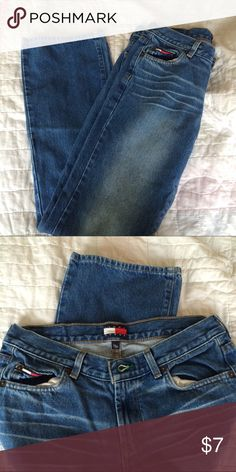 Tommy Jeans Tommy blue jeans. Size 7/31 . Clean, no tears or stain Tommy Hilfiger Jeans Boyfriend