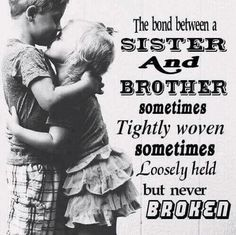 The 100 Greatest Brother Quotes And Sibling Sayings The famous quotes about brother: These quotes will tell you how brothers and sisters relationship and lo Brother N Sister Quotes, Brother And Sister Relationship, Nephew Quotes, Brother Birthday Quotes, Brother And Sister Love, Brother Brother, Funny Sister, Cousin Quotes, Brother Status