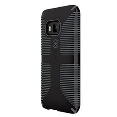 Speck Products Candy Shell Grip Case for HTC One M9 Smartphone - Retail Packaging - Black/Slate Grey