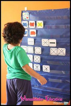 Tarjetas Atributos Bloques Lógicos para Imprimir Gratis - Creciendo con Montessori