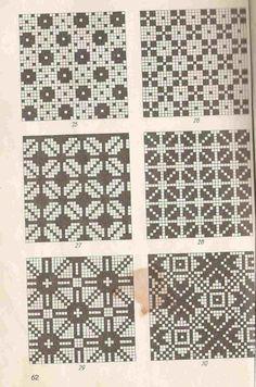 Estonian patterns - That's It Fair Isle Knitting Patterns, Knitting Charts, Knitting Stitches, Knit Patterns, Cross Stitch Patterns, Crochet Chart, Filet Crochet, Mittens Pattern, Tapestry Crochet