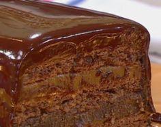 Recetas | Cocineros Argentinos-Lingote de chocolate y dulce de leche Choco Chocolate, Dessert Recipes, Desserts, Kitchen Recipes, Sweet Bread, Sweet Recipes, Cupcake Cakes, Food And Drink, Favorite Recipes
