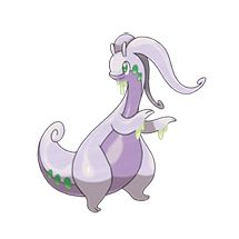 "Pokeball Pokemon - Goodra - Goodra doesn't have the range of some other pokemon, but it will use ""Dragon Tail"" with it's massive tail and instantly Knock foes away with the force of Little Mac's KO punch. Pokemon Pokedex, Pokemon Tv, Pokemon X And Y, Pokemon Images, Pokemon Pictures, Cool Pokemon, Pokemon Cards, Pokemon Original, Dragon Type Pokemon"