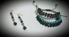 Handmade Jewelry, Beaded Bracelets, Drop Earrings, Fashion, Moda, Fashion Styles, Pearl Bracelets, Drop Earring, Fashion Illustrations