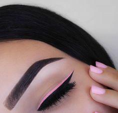 Pink & Black Eyeliner