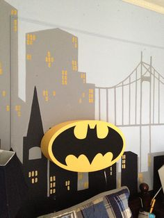 Embracing the Mundane: a superhero bedroom
