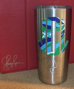 MONOGRAM DECALS  Custom decals, monogram decals, pet decals, decals for Yeti, Ozark, Rtic and more, decal gifts designsbystaceylynn@gmail.com