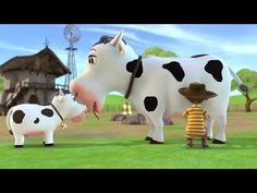 LA VACA LOLA canciones infantiles de la granja - YouTube