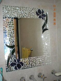 32 New Ideas Wall Tiles Pattern Mirror