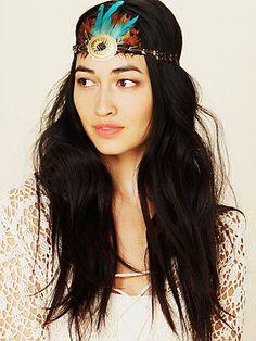feathered headdress Jessica Mau