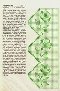 Marta Markowska's media content and analytics Crochet Patterns Filet, Crochet Borders, Counted Cross Stitch Patterns, Crochet Motif, Crochet Designs, Crochet World, Crochet Home, Crochet Sunflower, Fillet Crochet