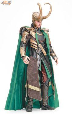 Just beautiful...Loki action figure