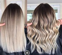 Are you going to balayage hair for the first time and know nothing about this technique? We've gathered everything you need to know about balayage, check! Blonde Roots, Balayage Hair Blonde, Brown Blonde Hair, Haircolor, Blonde Ombre Hair Medium, Blonde Hair Natural Roots, Dark Brown To Blonde Balayage, Natural Ombre Hair, Blonde Hair Types