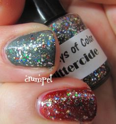 The Crumpet: 365 Days of Color - Glittercide