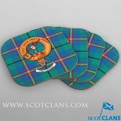Carmichael Clan Crest Coasters