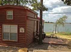 The best way to stay at Lake Fork is waterfront!  Reserve your waterfront cabin at Pope's Landing Marina!  www.PopesLanding.com