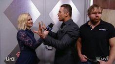 Dean Ambrose, Renee Young, The Miz