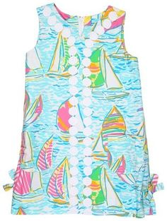 ShopStyle: Lilly Pulitzer Kids - Little Lilly Lace Trimmed Shift (Toddler/Little Kids/Big Kids)