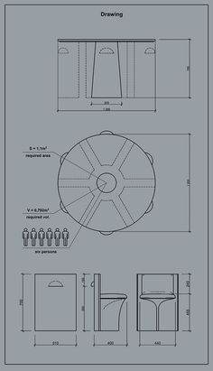 LOC, Dining group on Behance Drawing Furniture, Folding Furniture, Diy Pallet Furniture, Diy Furniture Projects, Small House Furniture, House Furniture Design, Space Saving Furniture, Home Furniture, Tea Table Design