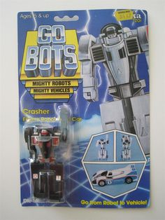 Gobots crasher | price $ 49 99 out of stock item number crasher04