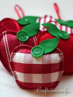 Fabric Apples 2