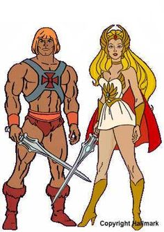 He-Man & She-Ra - My brother & I would pretend to be like them.