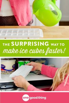 If you want to make ice in a hurry, start with hot water instead of cold! Find out the history and science behind this frozen phenomenon here! Cooking For A Group, New Cooking, Cooking Videos, Healthy Cooking, Cooking Tips, Cooking Recipes, Food Hacks, Food Tips, Food Science