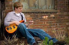senior picture with guitar | Look Great! | Black Label Senior Pictures – a senior portrait ...