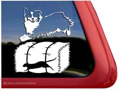 Barn Hunt Australian Shepherd Decal #barnhunt #australianshepherd