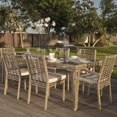Topaz Rectangular Dining Set