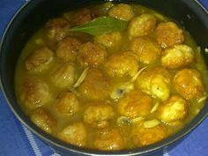 Recetas con encanto: Albóndigas de pollo en salsa