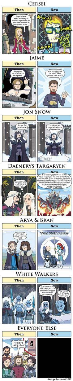 Game of thrones season 7 funny humour meme fan art carto… Et puis il y a Theon. Game of thrones saison 7 humour drôle de dessin animé fan art. Jon Snow, Cersei Lannister, Jaime Lannister, Daenerys Targaryen d Jaime Lannister, Cersei Lannister, Daenerys Targaryen, Khaleesi, Game Of Thrones Saison, Game Of Thrones Funny, Game Of Thrones Art, Fan Art, Game Of Throne Lustig