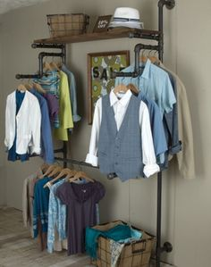 Another way to hang the clothes!