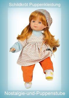 Schildkröt, Puppenkleidung fürs 37 cm große Schlenkerle... nur 39.90 EUR