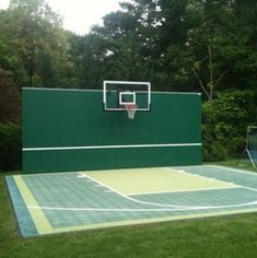 Custom Rally Master installed by Oval Tennis Construction
