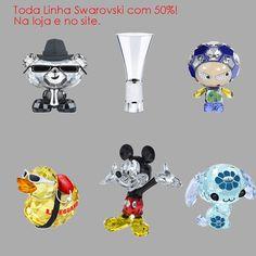 Toda a linha Swarovski com 50% de desconto! Na loja e no site: http://www.marcheartdevie.com.br/produtos/acessorios/crystalline-vase/