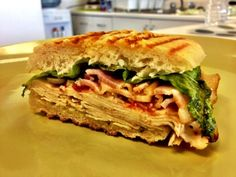 #MealoftheDay for April 16th is this tasty Grilled Chicken Caesar Salad Sandwich  submitted by AngeA!