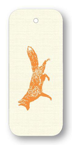 Fox Silhouette Orange