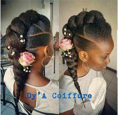 Braids Styles For Black Girls Idea cute braided hairstyles for black girls for unique and Braids Styles For Black Girls. Here is Braids Styles For Black Girls Idea for you. Braids Styles For Black Girls braided hairstyles for black women tr. Cute Braided Hairstyles, Girls Natural Hairstyles, My Hairstyle, Little Girl Hairstyles, Afro Hairstyles, Wedding Hairstyles, Protective Hairstyles, Protective Styles, Hairstyles 2016